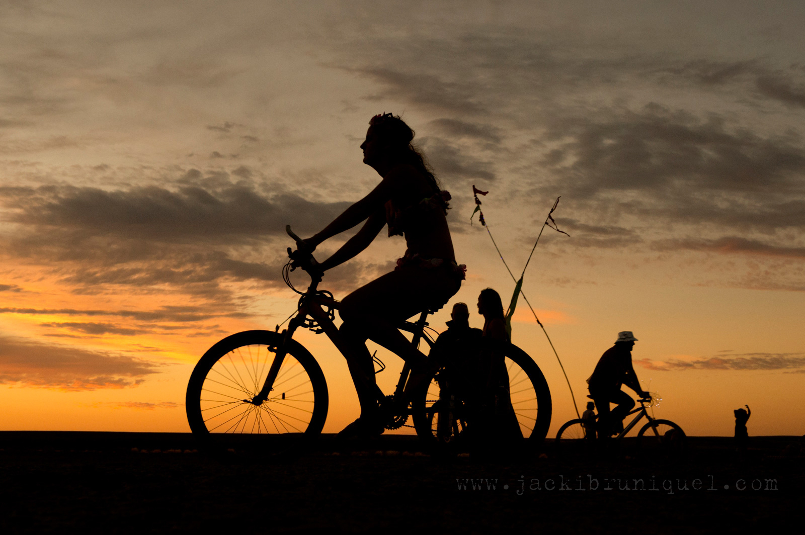 AfrikaBurn Tankwa sunset bike