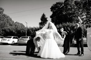 Midlands wedding bride