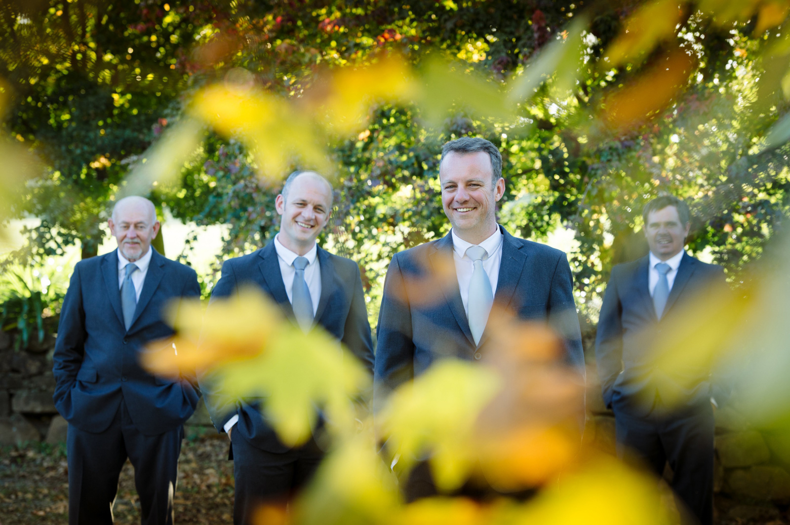 Midlands wedding groom