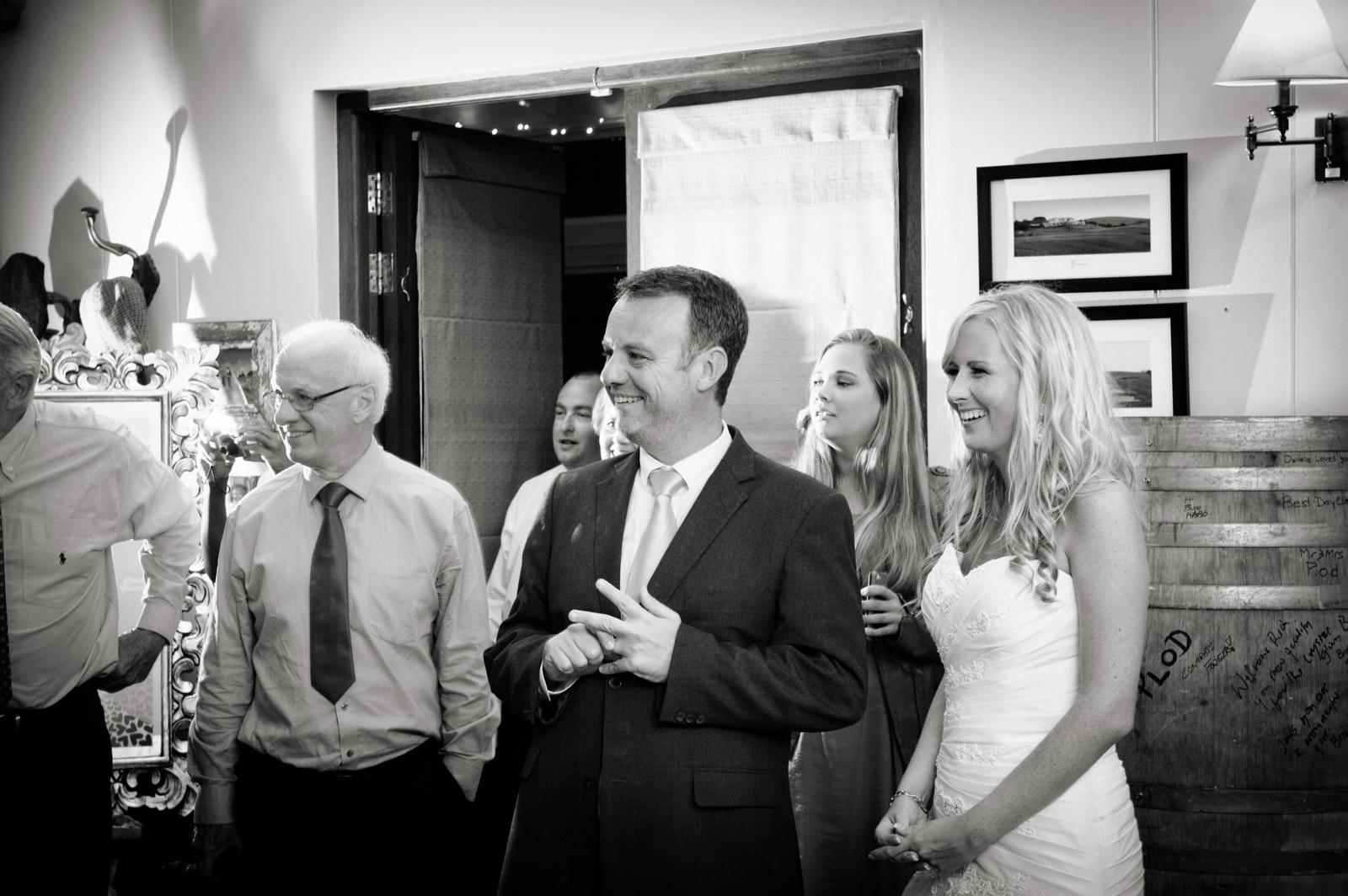 Midlands wedding reception