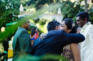 Bride and groom congratulations