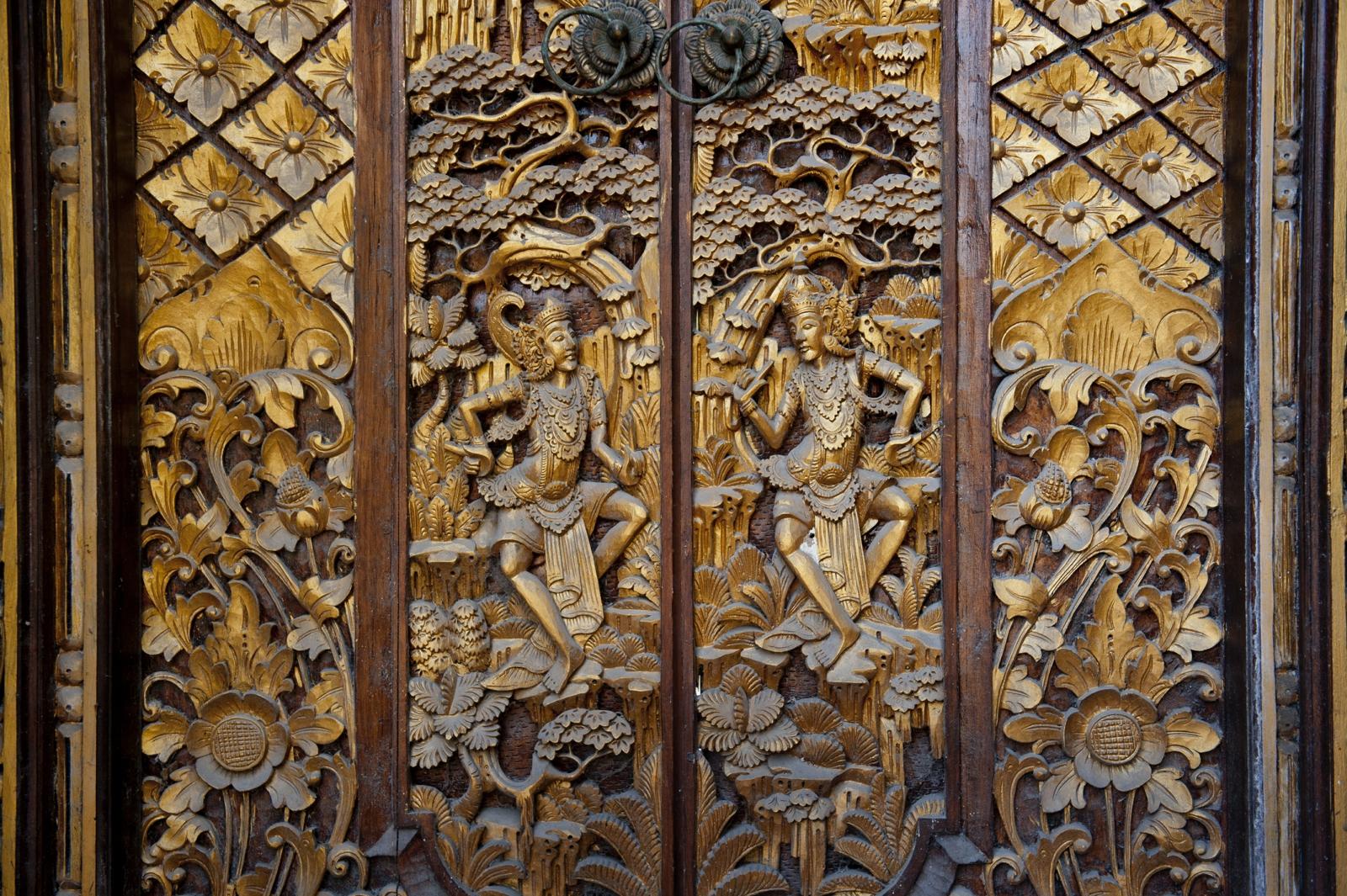 Beautiful Balinese door