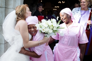 Bride with Maids