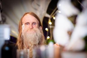 Man with epic beard
