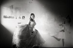 Tuscan Bride twirling
