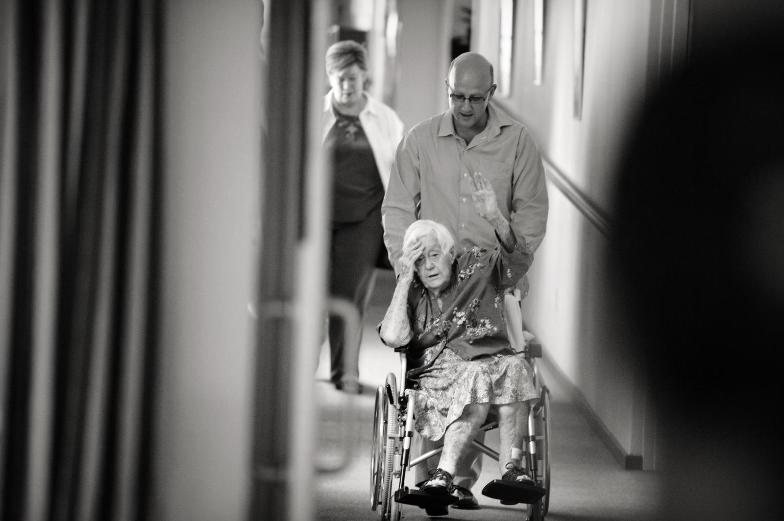 Bride with Gran