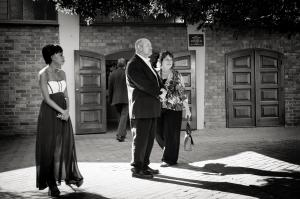 Late wedding