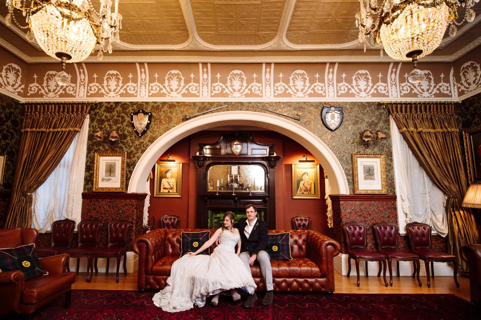 Royal Bride and Groom