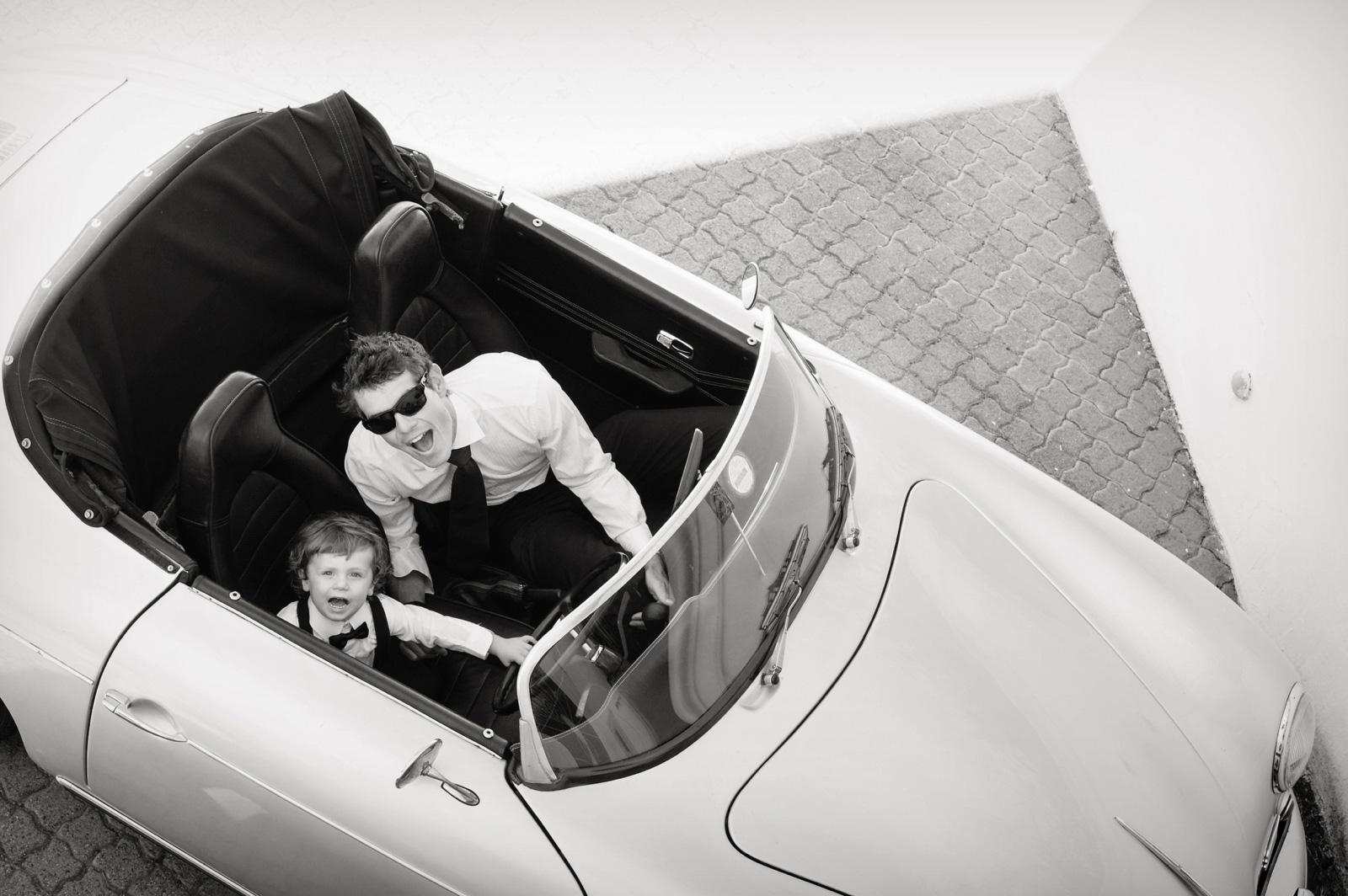 Father and Son Porsche