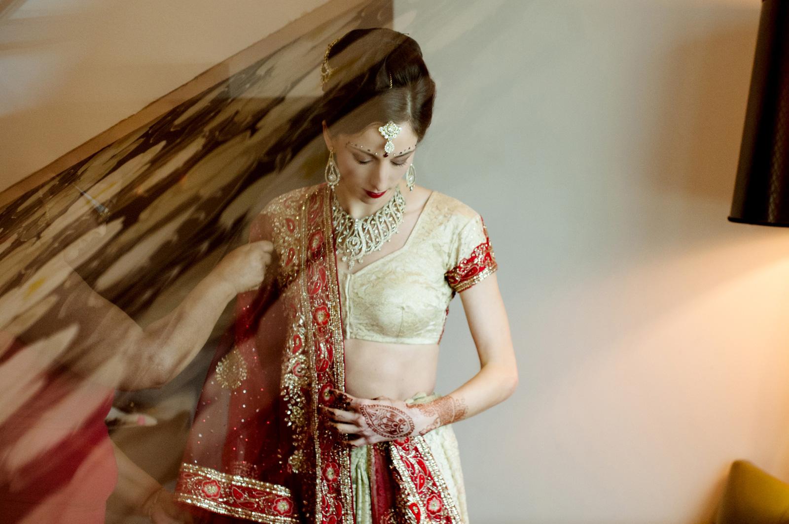 Hindu Bride Sari