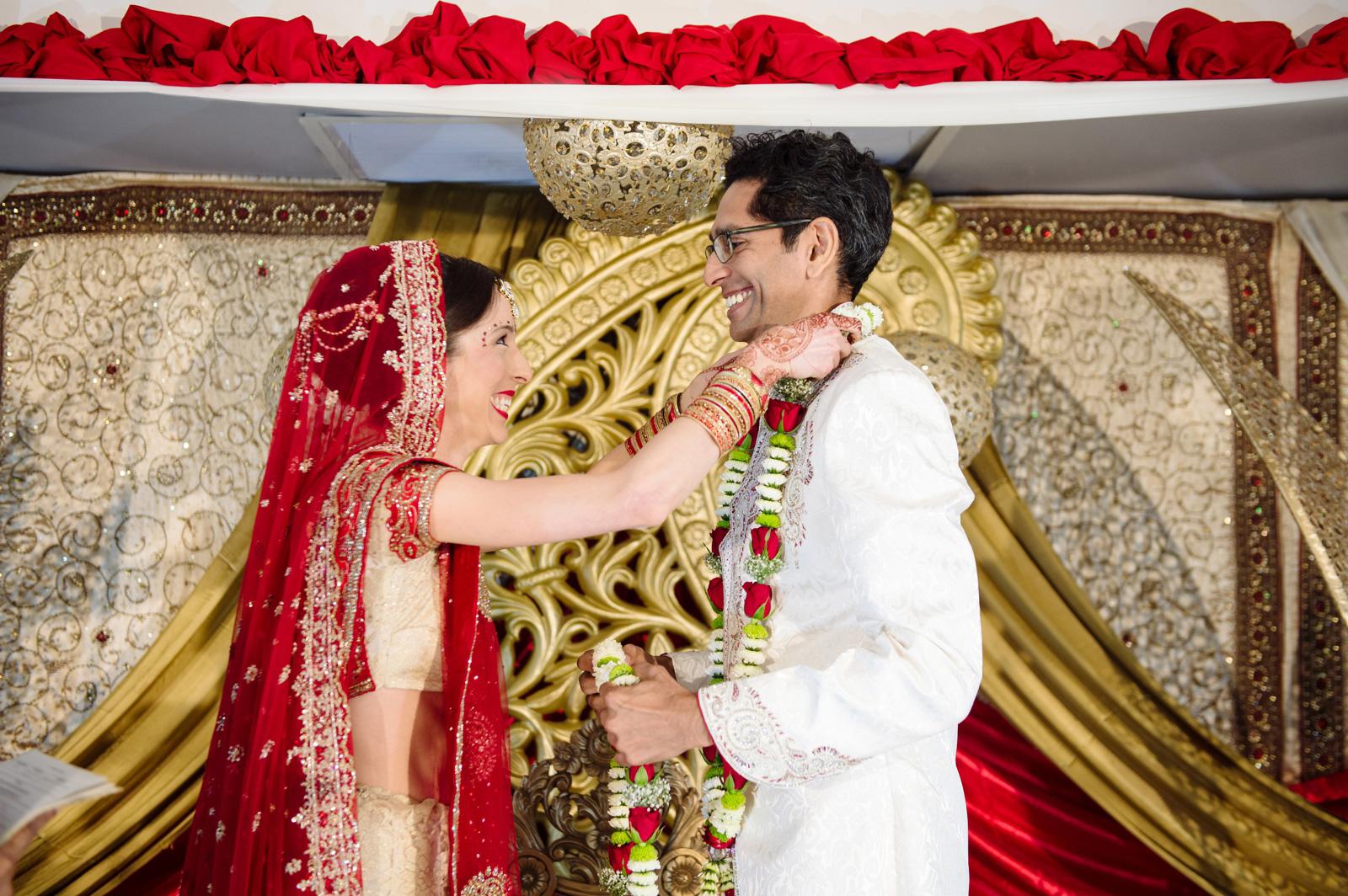 Hindu Wedding Ceremony Garlands