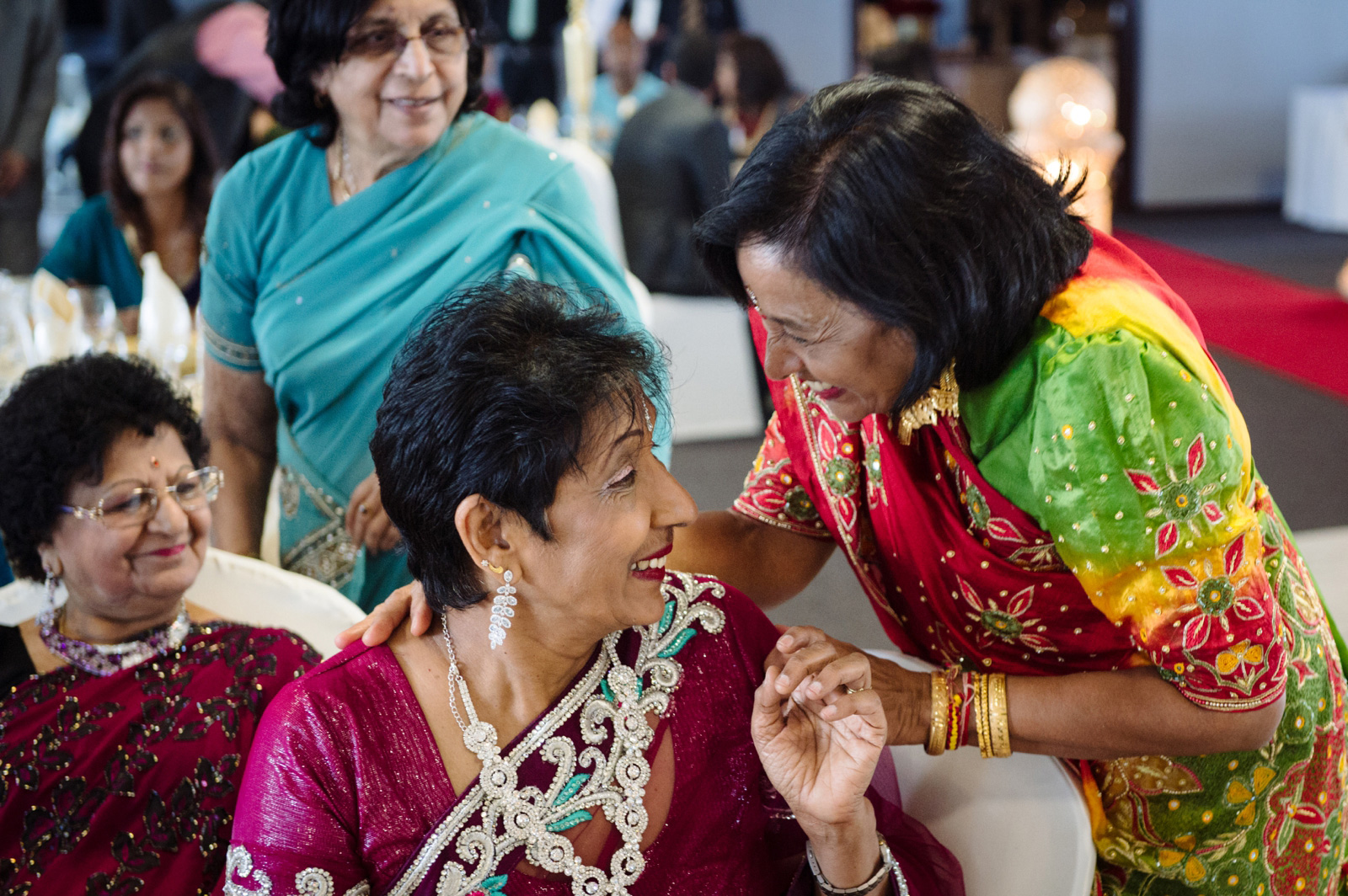 Colourful Saris