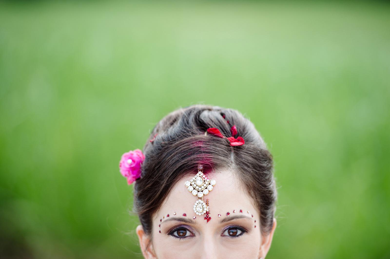 Hindu Christian Bride Bhindi