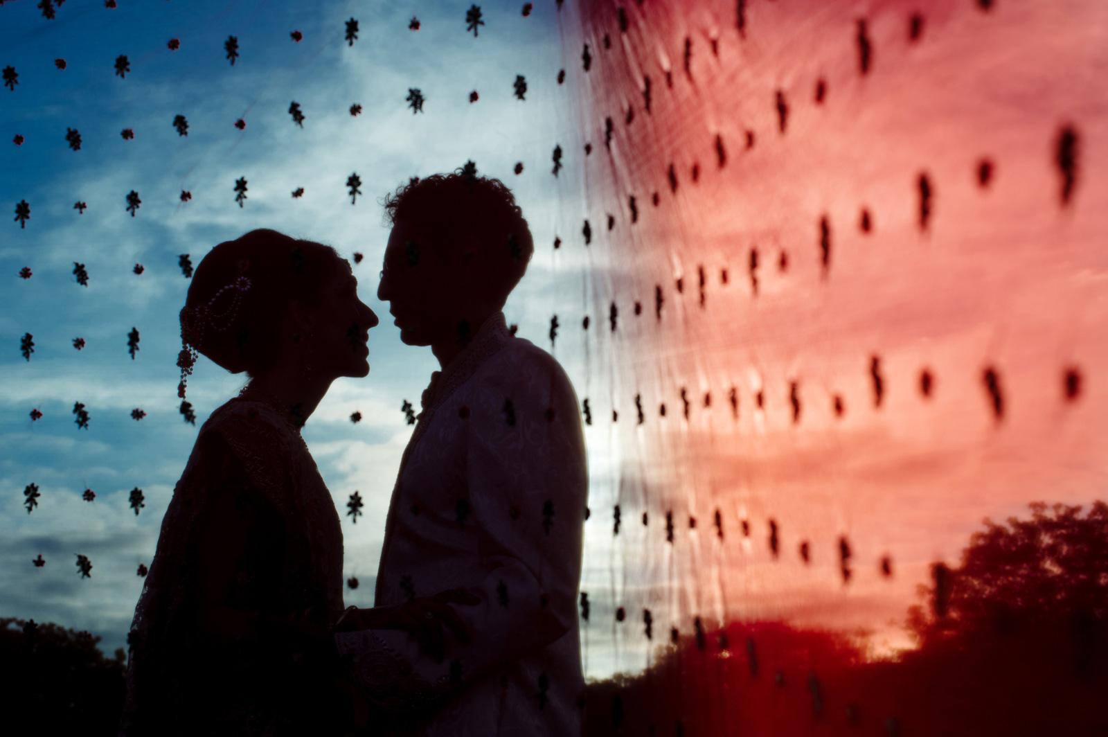 Sari Couple Shoot Wedding