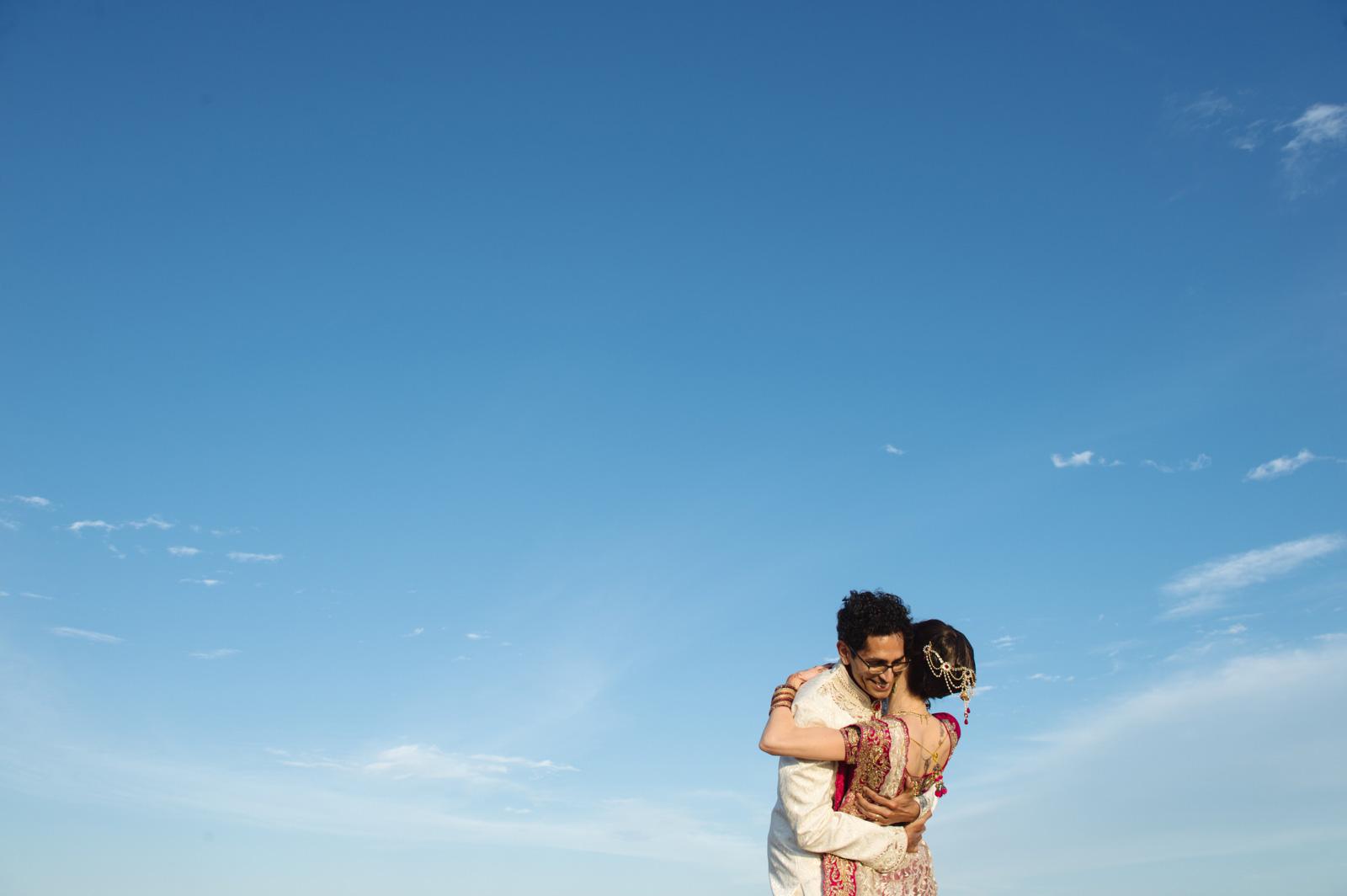 Hindu Christian Beach Wedding