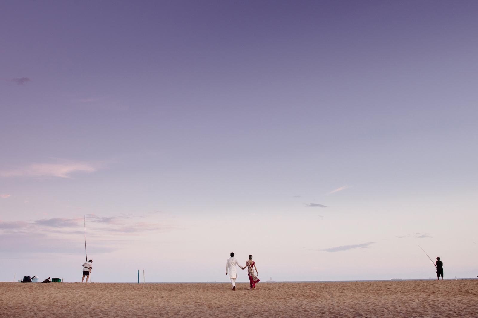Hindu beach wedding