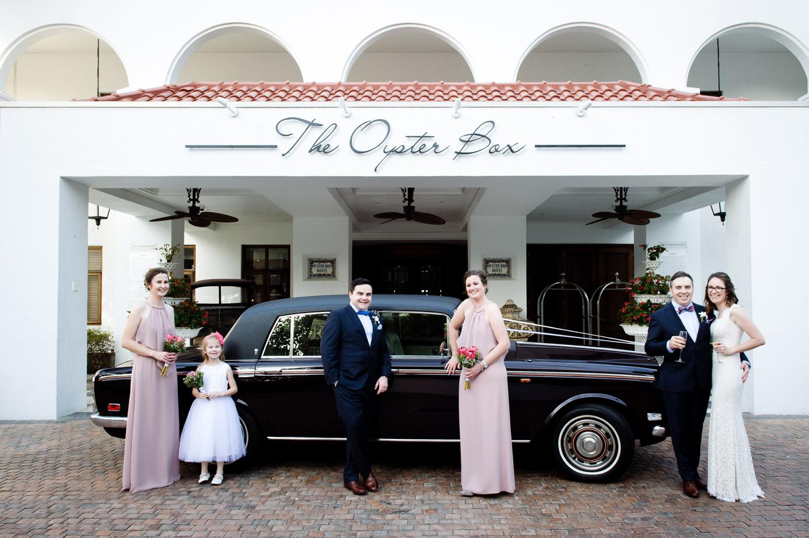 The Oyster Box wedding