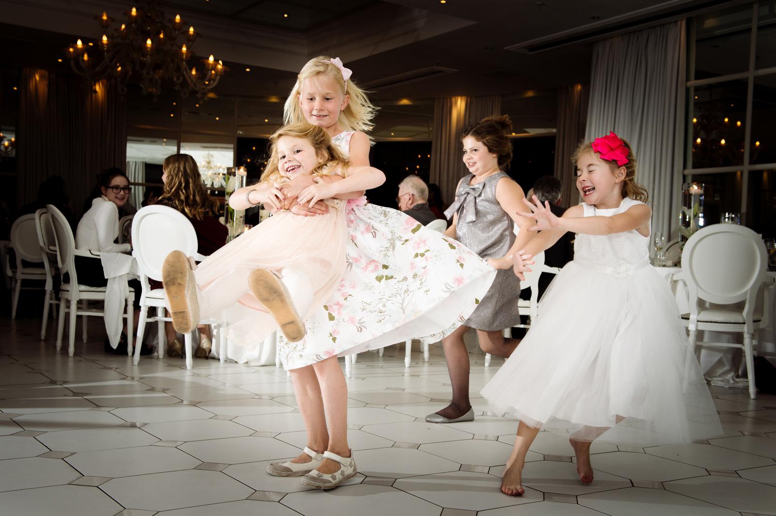 Girls on the dancefloor
