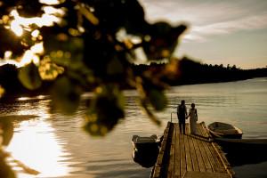 Finnhamn Island wedding