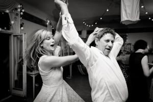 dad and daughter dancing