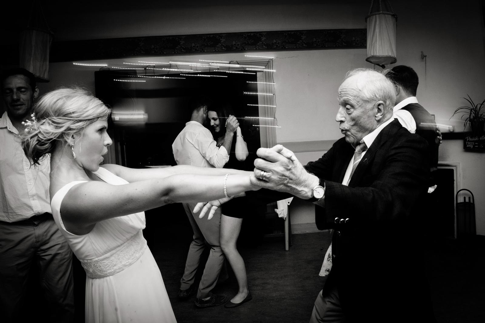 grampa dancing