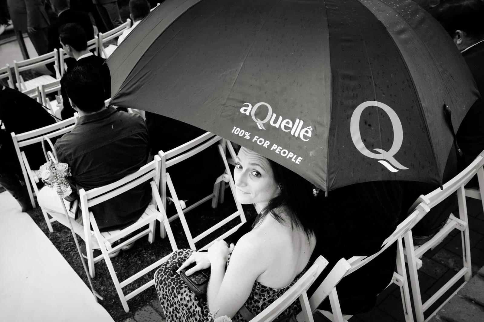 aQuelle umbrella