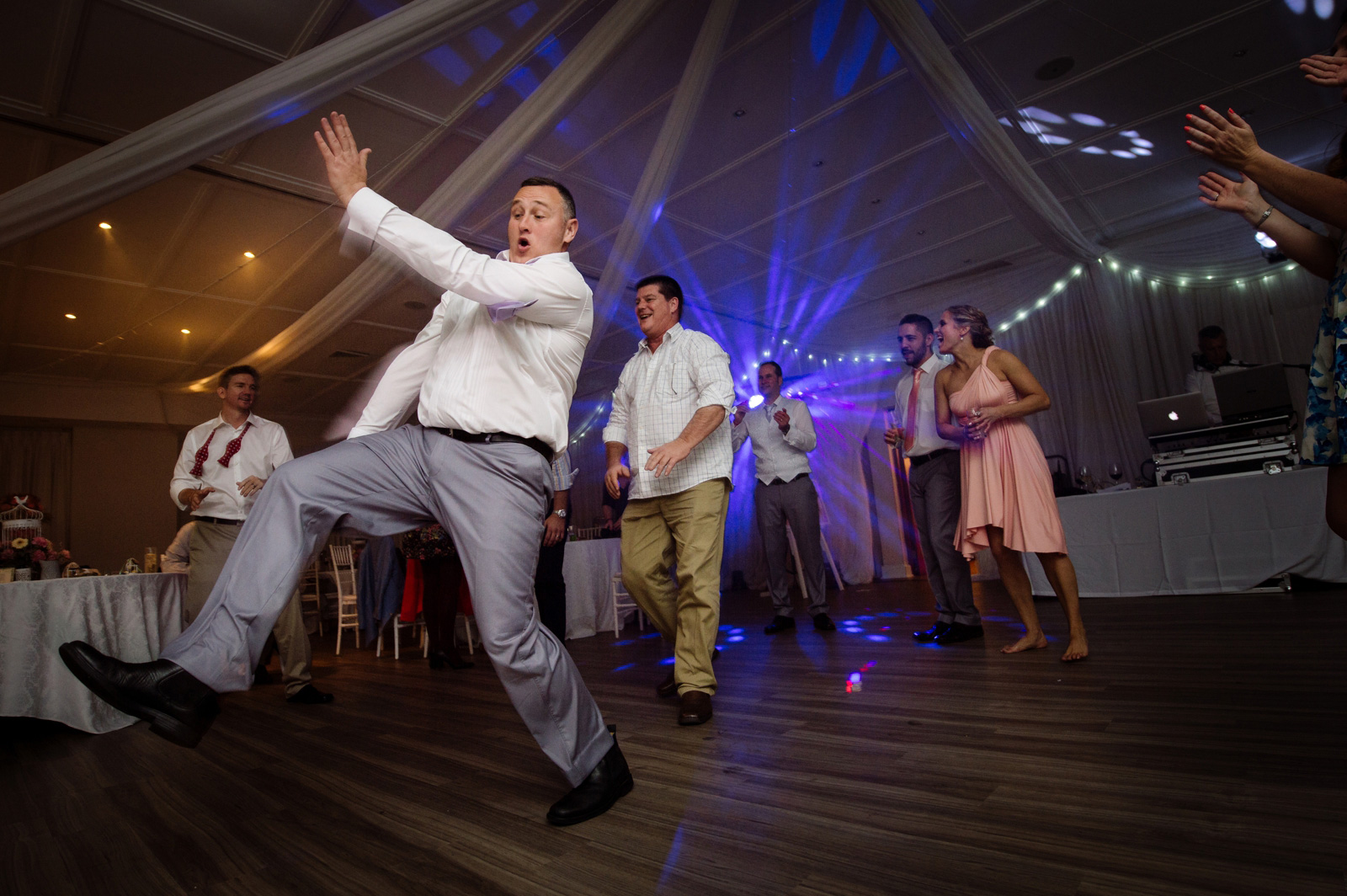 drunk man dancing