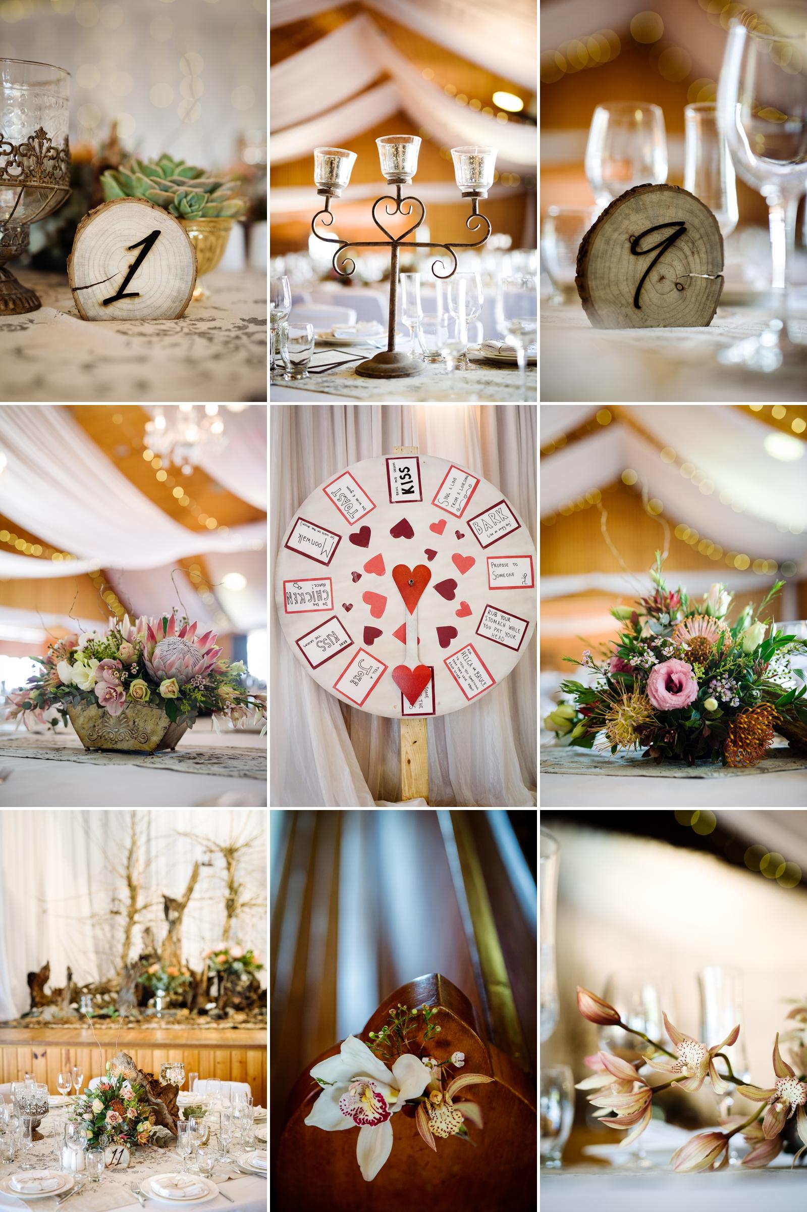 driftwood wedding decor
