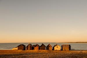 Swedish beach sunset