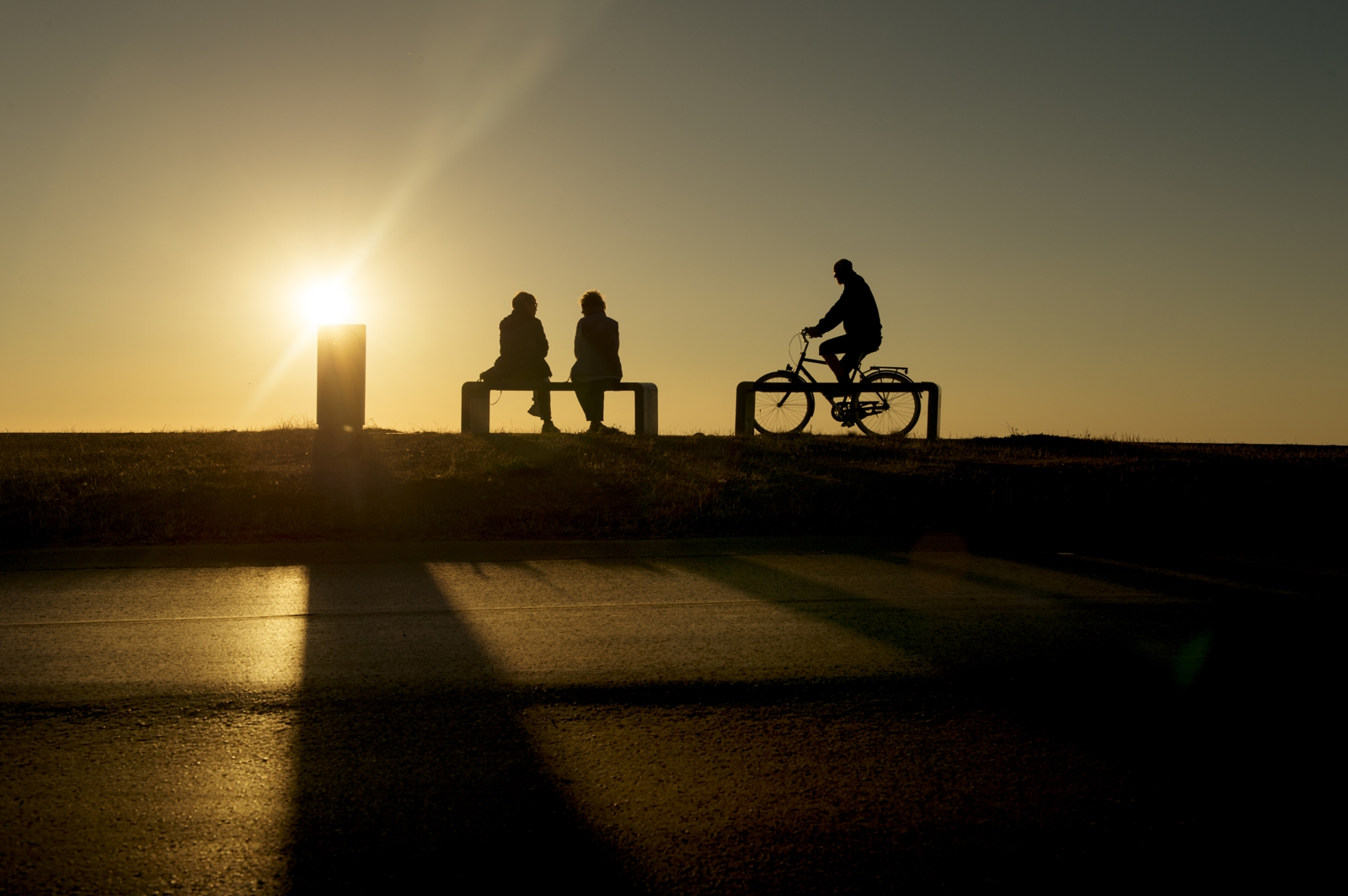 Bicycle silhouette