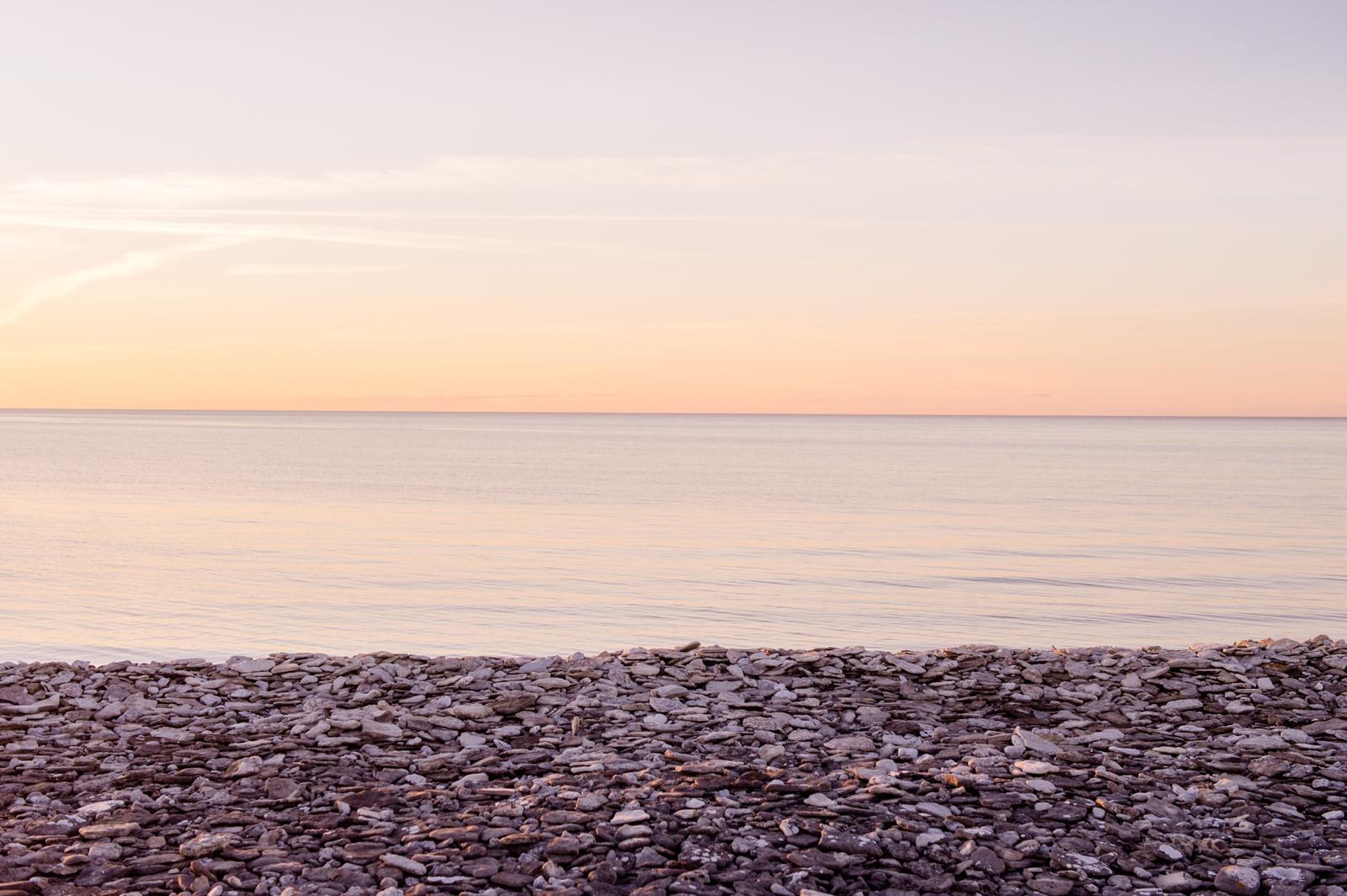 Peddle beach sunset