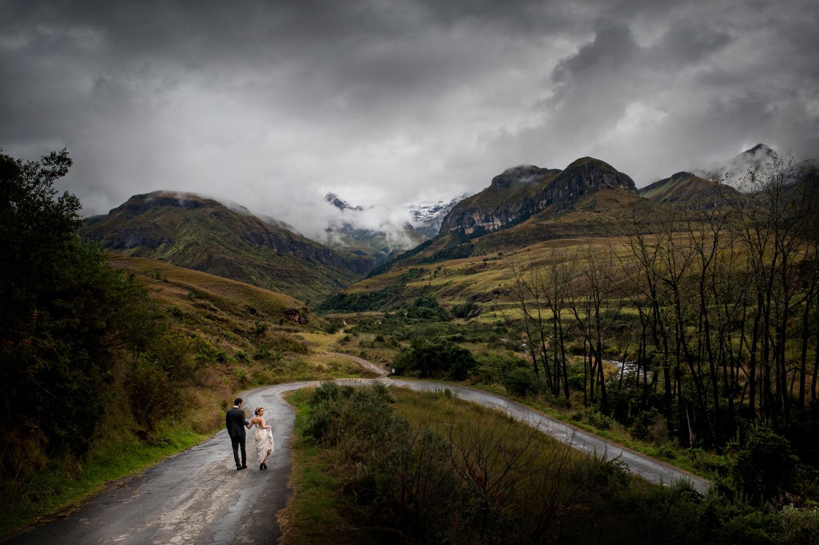 Drakensberg Wedding Photo