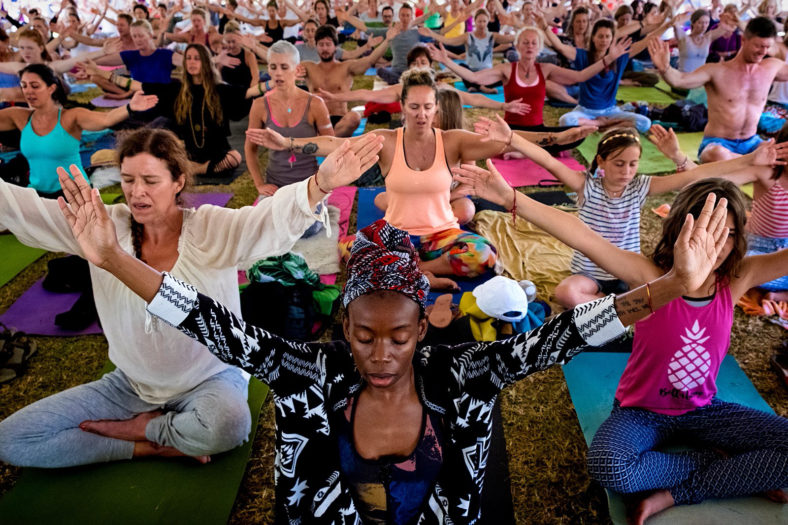 Spirit Fest Yoga festival in Cape Town South Africa