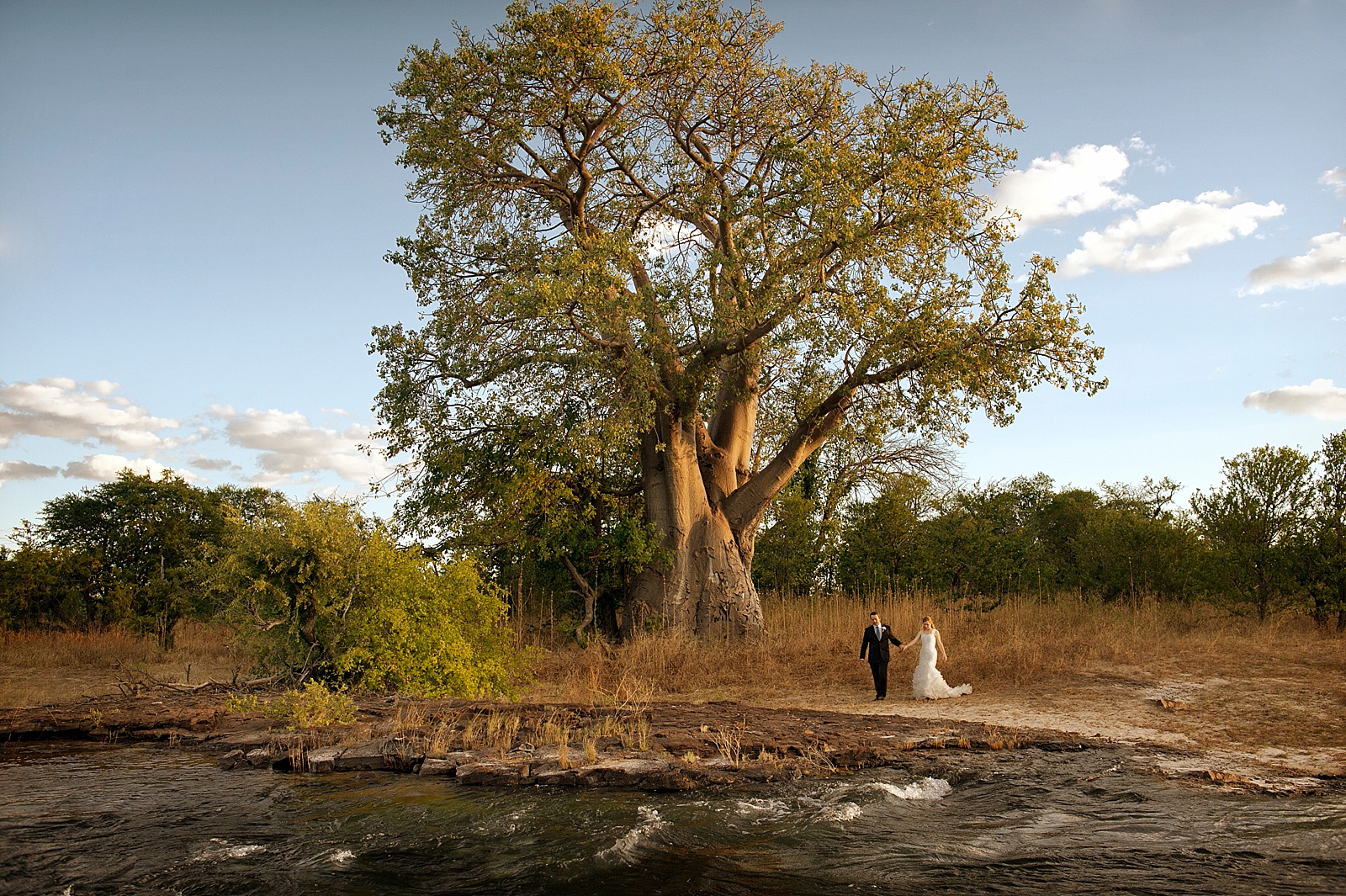 Creative wedding photography at South African bush wedding , photographed by top South African wedding photographer Jacki Bruniquel