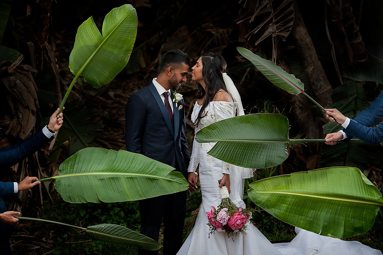 Destination wedding at Zimbali South Africa photographed by top South African wedding photographer Jacki Bruniquel