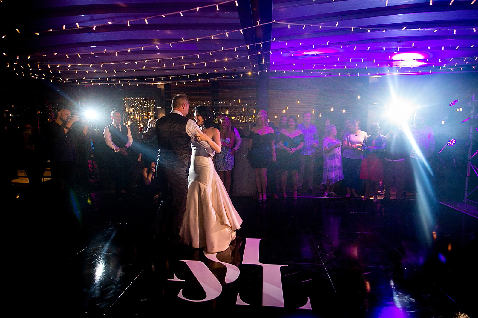 Bride and groom first dance photographed by top South African wedding and documentary photographer Jacki Bruniquel
