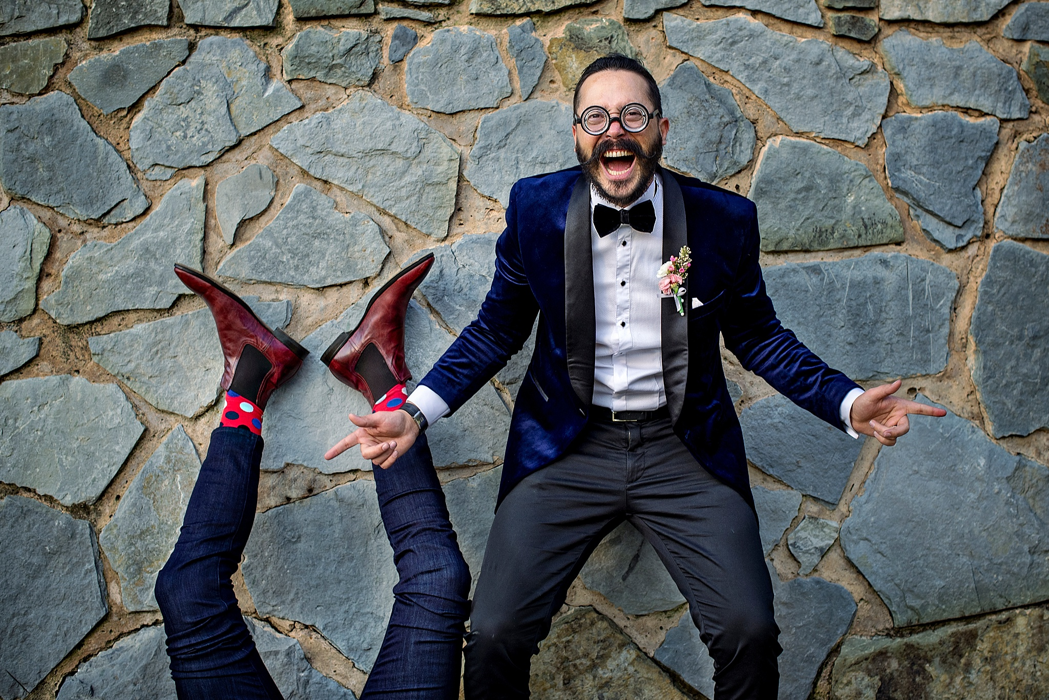 Fun Destination Gay Wedding at Champagne Castle in the Drakensberg shot by stop South African Wedding photographer Jacki Bruniquel