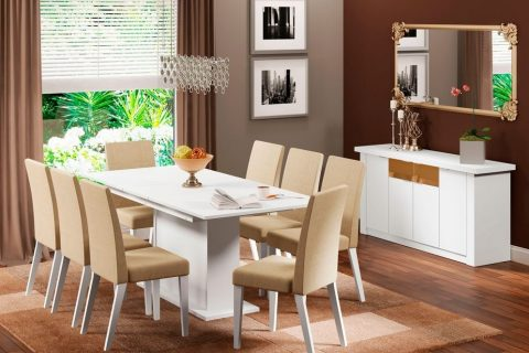 Dicas de decoração e iluminação para sala de jantar