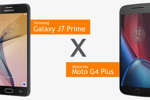 Comparativo de celulares: Moto G4 Plus x Samsung Galaxy J7 Prime