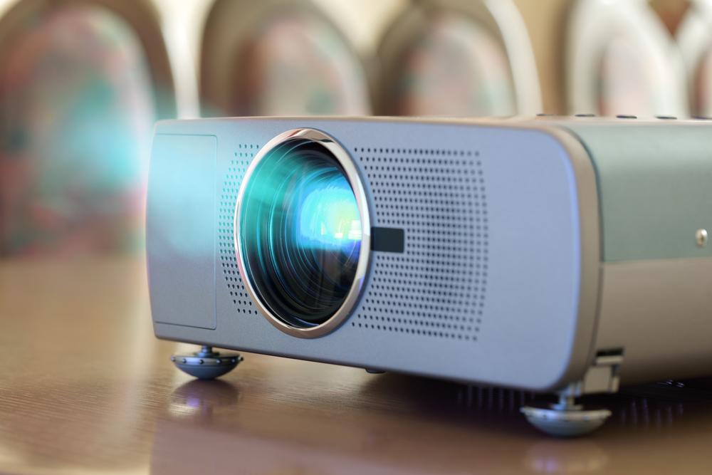 televisão ou projetor