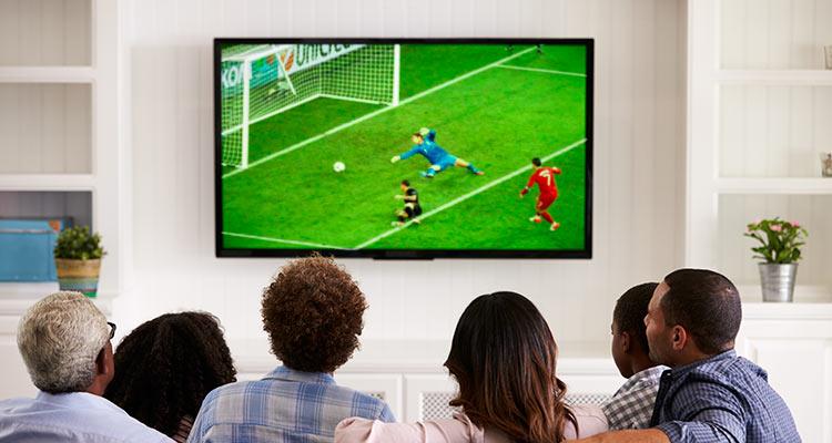 televisões para assistir à Copa do Mundo