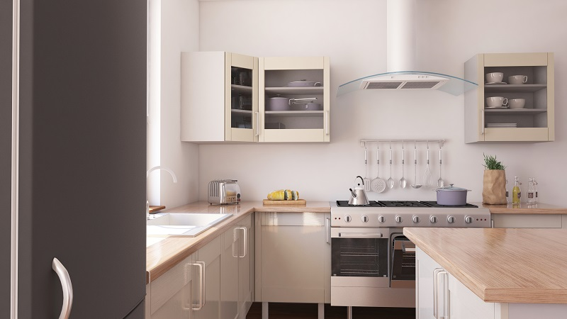 3D render of a Kitchen Interior