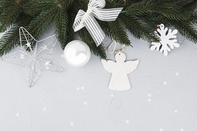 Itens para decoração de mesa de natal