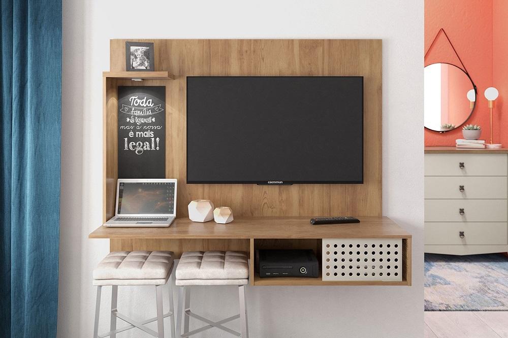 Painel de tv quarto