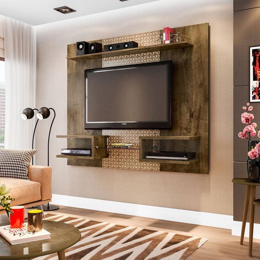 Painel de tv sala sofisticada