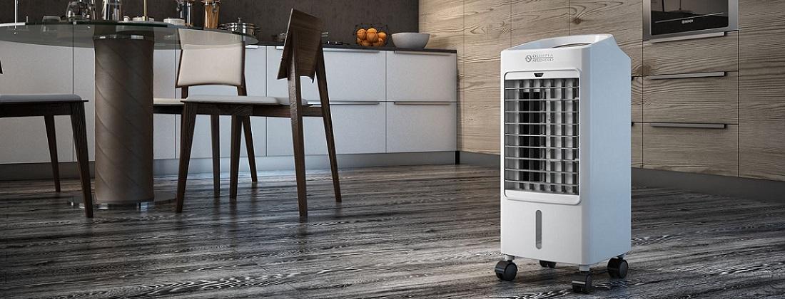 Climatizador de ar na casa