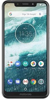 Motorola One display