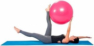 gym ball treino