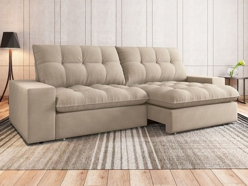 melhor sofá retrátil custo benefício