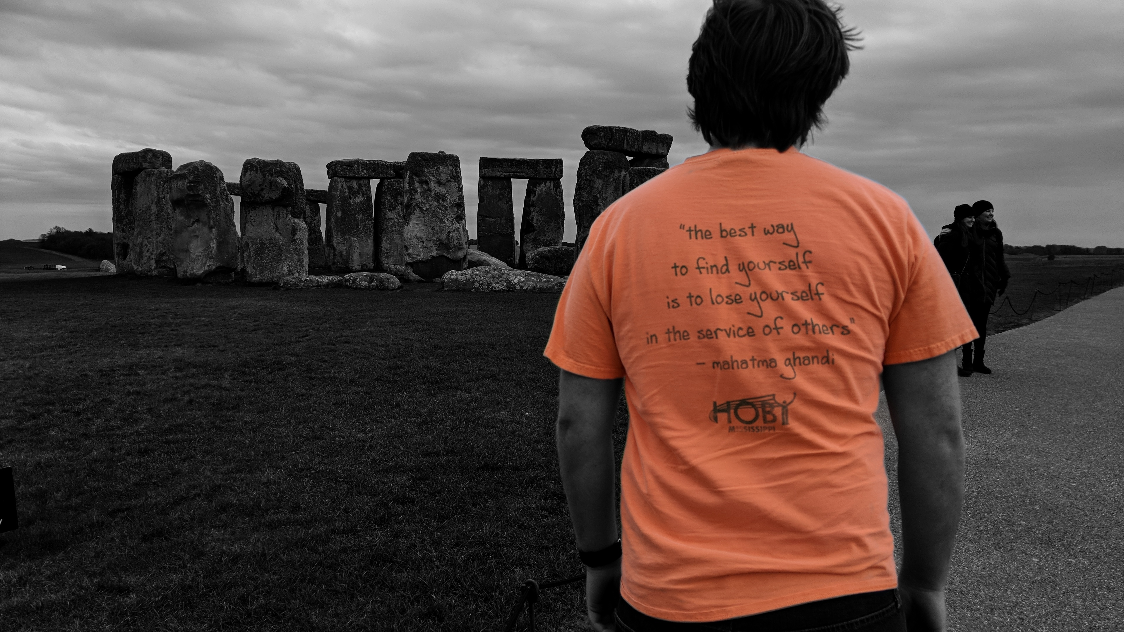 HOBY at Stonehenge